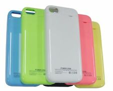 iPhone 5 5S 5C Portable Power Bank Charger External Backup Battery Case 2500mAh