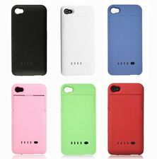 2200mAh Portable Power Pack External Backup Battery Charger Case For iPhone 4 4S