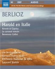 Hector Berlioz: Works for Orchestra (Blu Ray Audio), New Music