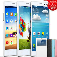 "New 5.5"" Dual Sim Android 4 Smartphone Dual Core Unlocked 3G T-Mobile Cell Phone"