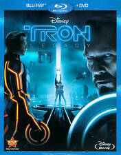 Tron: Legacy (Blu-ray/DVD, 2011, 2-Disc Set-New, Factory Sealed, Outer Slipcover