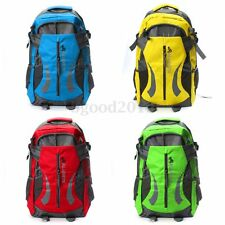40L Waterproof Outdoor Travel Hiking Large Camping Luggage Rucksack Backpack Bag