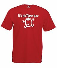 BIRTHDAY BOY funny fathers brothers sons uncles present gift ideas mens T SHIRT