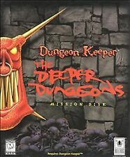 Dungeon Keeper: The Deeper Dungeons Mission Disk  (PC, 1997)