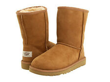 NEW WOMEN BOOT UGG AUSTRALIA W CLASSIC SHORT CHESTNUT 5825 ORG FREE SHIPPING
