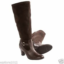 New $240 Blondo Women's Verlaine Wide Calf Boots - Leather / Ultra Suede Upper
