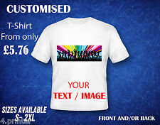 Custom Printed Personalised T-shirt Design your own Hen Stag Birthday party