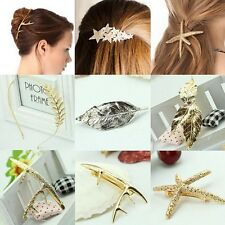 Lady's Fashion Jewelry Hair Clip Headband Bohemian Ponytail Holder