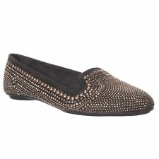 Hush Puppies Flossie Chaste Loafer Flat - Gold Stud