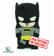 Batman Dark Knight Hero Silicone Rubber iPhone 4/5/5S/5C/ iPod Touch Case Cover