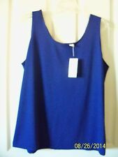 Chico's Microfiber Contemporary Tank SEE COLORS AVAILABLE Size 3 =16 New