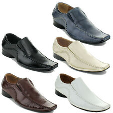 New Mens Casual Bicycle-Toe Dress Soft Slip-On Loafer 672