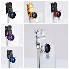 3 in 1 Camera Set Fish Eye, Wide Angle, Macro Lens For IPhone Phone Accessor
