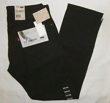 LEVIS 504 COMMUTER regular straight fit PANTS 191060038 black STRETCH water repe
