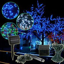 200/300 LED Flower String Lights Christmas Party Outdoor Lamp FE