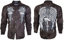 DESIGNER Men BUTTON DOWN Shirt COUTURE Express Roar Xtreme BKE UFC M-XL $68 (12)