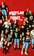 WWE Mattel Loose Wrestling Figure - With Custom Shirt - Your Choice