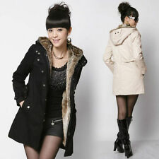 Women Thicken Warm Winter Coat Hood Parka Overcoat Long Jacket Outwear