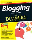Blogging All-in-One For Dummies by Susan Gunelius (Paperback, 2012)