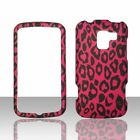 HotPink Leapord LG Enlighten VS700 Verizon Case Cover Hard Snap on