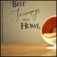 Wall Sticker, Quotes, Wall Decals, Wall Art, Graphics JOURNEYS HOME