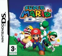 New Super Mario 64 for Nintendo DS NDS DS LITE NDSL DSI XL 3DS UK SELLER