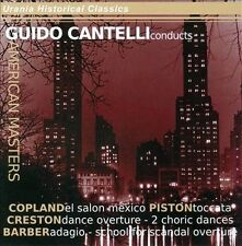 Guido Cantelli Conducts American Masters, New Music