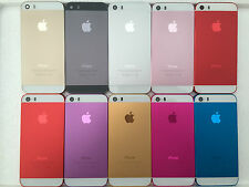 New Color iphone 5/5S chassis Housing Metal Battery Frame Replacement Back Cover