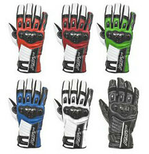 RST Stunt II 2 Ce Approved Leather Motorcycle Gloves All Colours