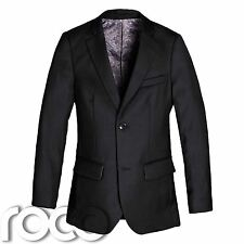 Boys Black Blazer, Suit Jacket, Black Jacket, Boys Formal Wear