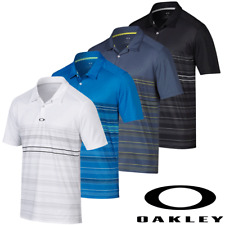 """50% OFF"" OAKLEY SHIELDS OHydrolix™ MENS TAILORED FIT HEATHERED GOLF POLO SHIRT"