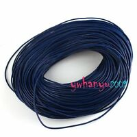 FREE Postage 50M 2mm Real Leather Cord - Round Thong High Quality C228