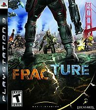 PLAYSTATION 3 PS3 ACTION GAME FRACTURE NEW & SEALED