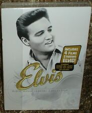 ELVIS MGM MOVIE LEGENDS COLLECTION 4-DISC DVD BOX SET, NEW & SEALED, RARE