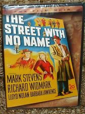 THE STREET WITH NO NAME DVD, NEW AND SEALED, FOX FILM NOIR WITH RICHARD WIDMARK