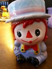 Vintage Relpo Raggedy Andy Planter - 6667 - Red 'Yarn' Hair - Hat