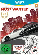 Need For Speed: Most Wanted (Nintendo Wii U, 2013, DVD-Box)