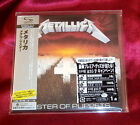 METALLICA MASTER OF PUPPETS JAPAN AUTHENTIC SHM MINI LP CD NEW OOP UICY-94664