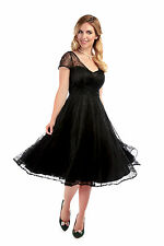 Collectif Vintage Nina Lace Swing Dress