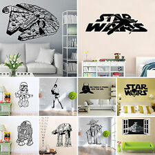 Star Wars Removable Art Vinyl Quote Wall Stickers Decal Muraux Accueil Kids Room