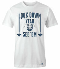 """""""LOOK DOWN YEAH YOU SEE'EM"""" T-Shirt to Match Air Retro 12 """"FRENCH BLUE"""""""