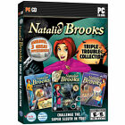 NATALIE BROOKS Triple Trouble Collection Brand New 3 PC Games Win XP Vista 7