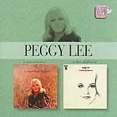 PEGGY LEE - A NATURAL WOMAN/IS THAT ALL THERE IS? (1969) 2003 EMI REMAST 2on1 CD
