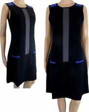 New Women' s Black 60s style Short Mini Shift Dress