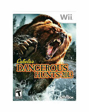 Brand New Sealed CABELA'S DANGEROUS HUNTS 2013 Nintendo Wii Game Only zt