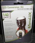 TERRALUX TLE6EXB 140 LUMEN LED UPGRADE BULB 2 and 3 Cell C and D Mag Lights new