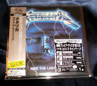 METALLICA RIDE THE LIGHTNING JAPAN 1ST PRESS SHM MINI LP CD + POSTER UICY-94663