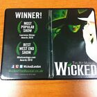 Wicked The Musical RARE BIRTHDAY GIFT Oyster/Bus Pass Holder Wallet Collectible