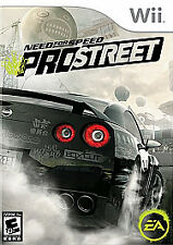 Need for Speed: ProStreet EA  (Nintendo Wii, 2007) Street Racing Game & Manual