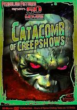 Catacomb of Creepshows - 50 Movie Pack (DVD, 2008, 12-Disc Set) *Brand New*